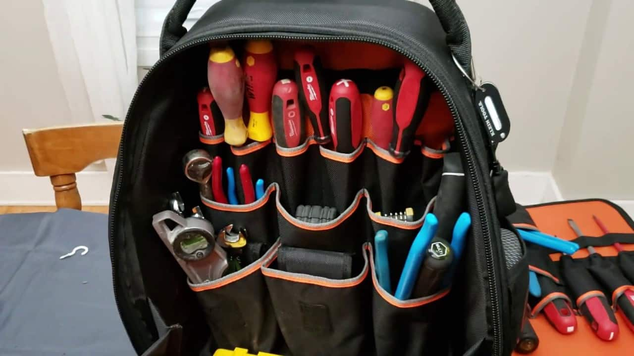 best tool backpack advantages