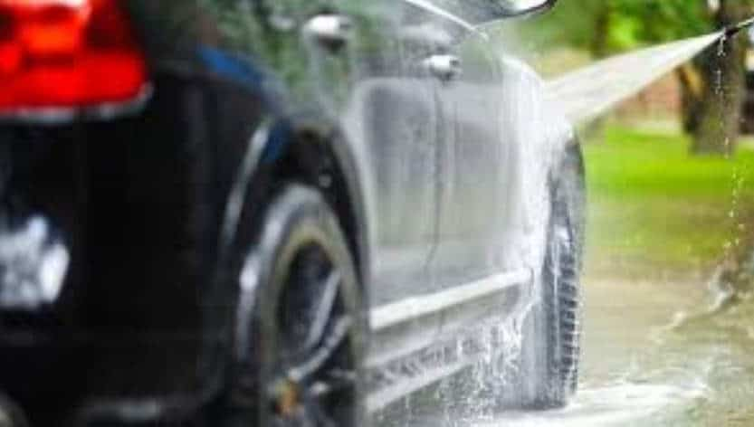 How to Pressure Wash a Car