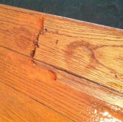 How to fix a bad stain job