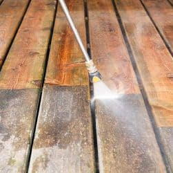 Pressure Wash Deck