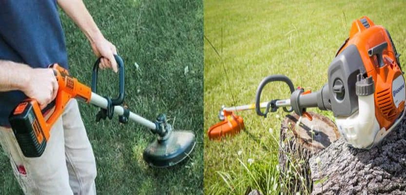 electric vs gas weed eater
