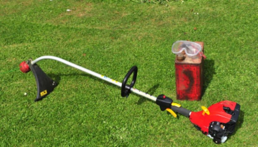 how to start a gas weed eater