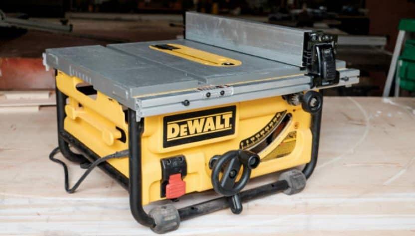 Dewalt DWE7480 Table Saw