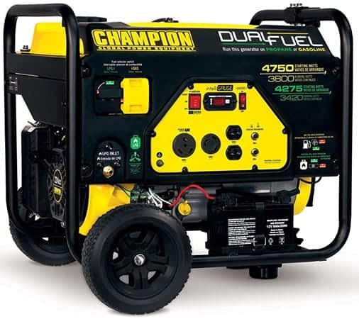 Champion 3800-Watts Portable Generator - ice cream truck generator