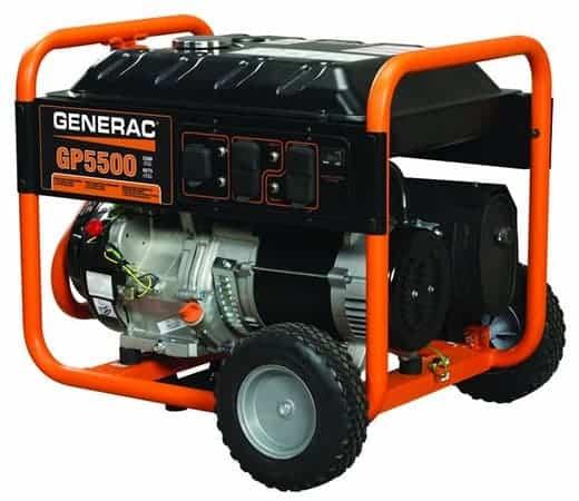 Generac GP5500 - quiet 5000 watt generator