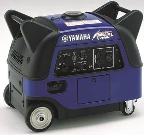 Yamaha EF3000iSEB best generator for rv air conditioner