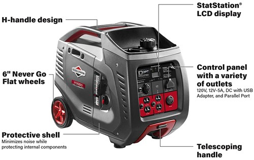 briggs and stratton 30545 p3000 powersmart series