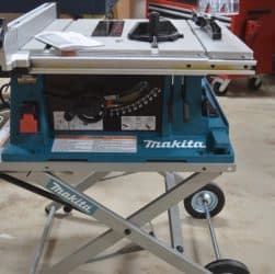 makita 2705 contractor table saw