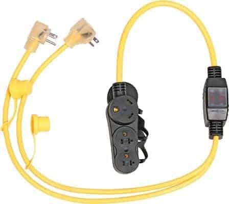 westinghouse generator parallel cord with RV ready outlet